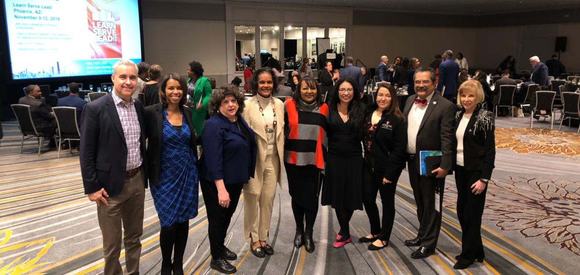 Texas Medical Schools Diversity and Inclusion Consortium at April 2019 AAMC GDI Meeting