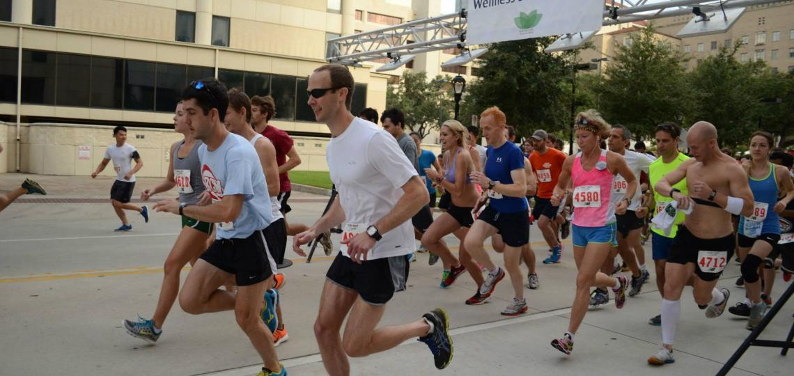 Wellness 5K 2014 race