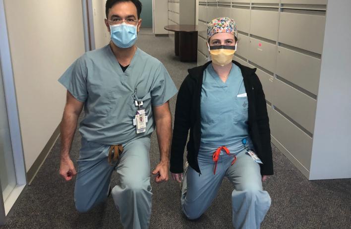 Drs. Rebecca Grace and Francisco Orejuela