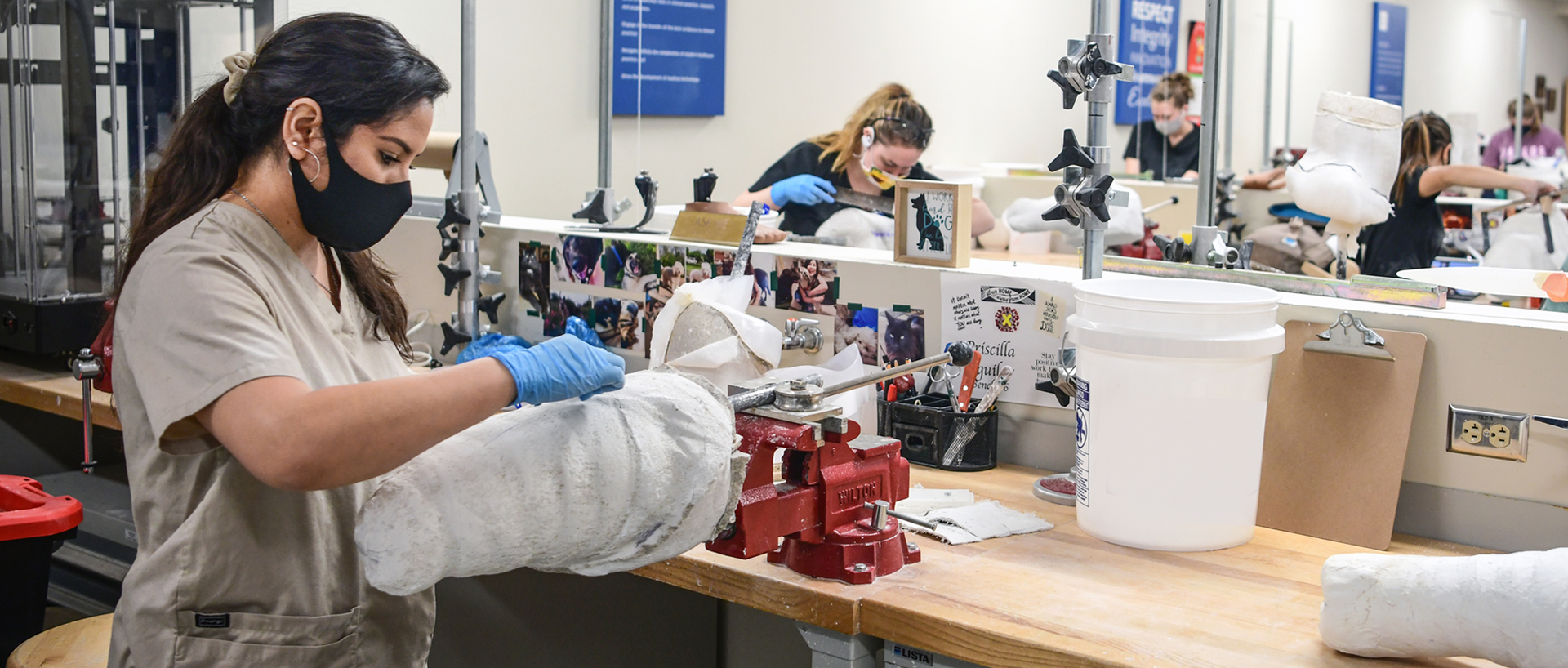 An Orthotics and Prosthetics workspace