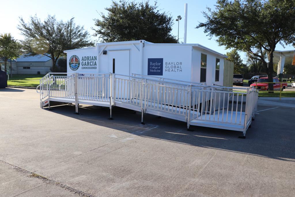 Exterior of Baylor Global Health Smart Pod