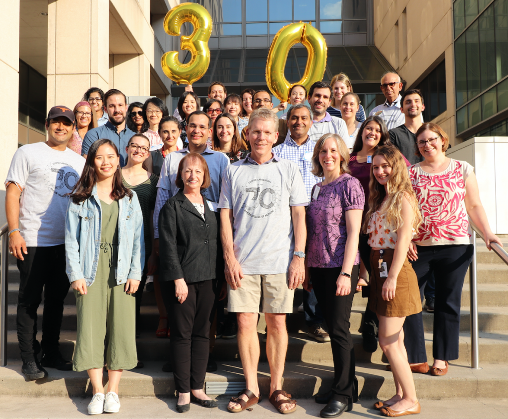 Somehow the Cooper lab pulled off this huge surprise reunion! More than 30 participants from all over (even Taiwan), 11 talks from former students and postdocs, videos and letters from many more - it was overwhelmingly fantastic.
