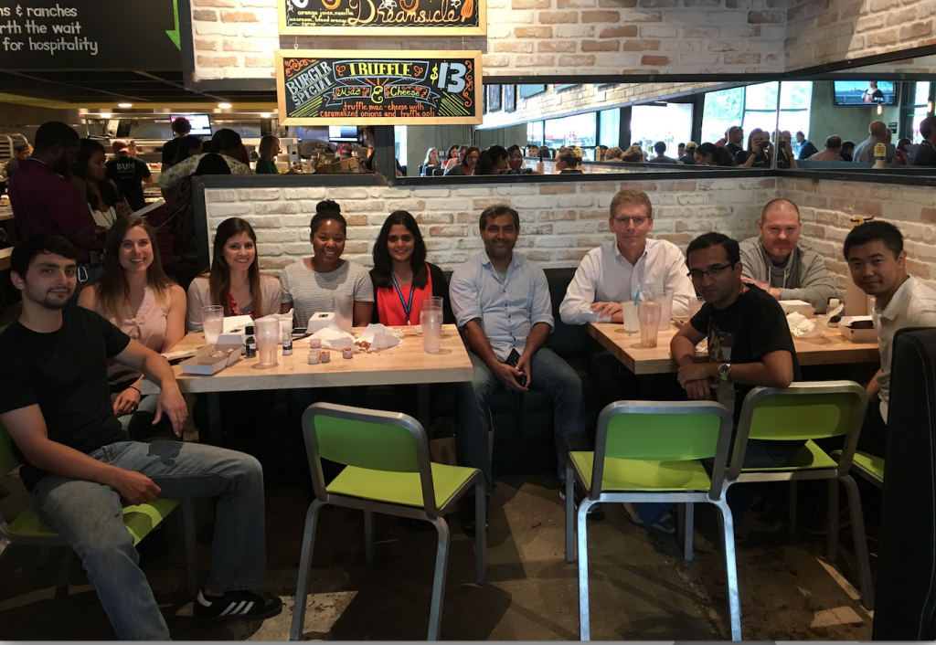Another lab celebration, published paper or funded grant; don't remember!