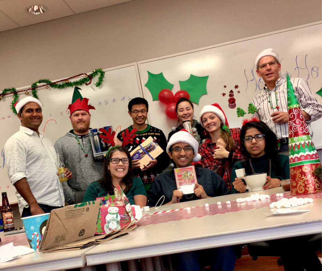 2017 Holiday White Elephant Party: Maybe everyone got what they wanted, maybe not!