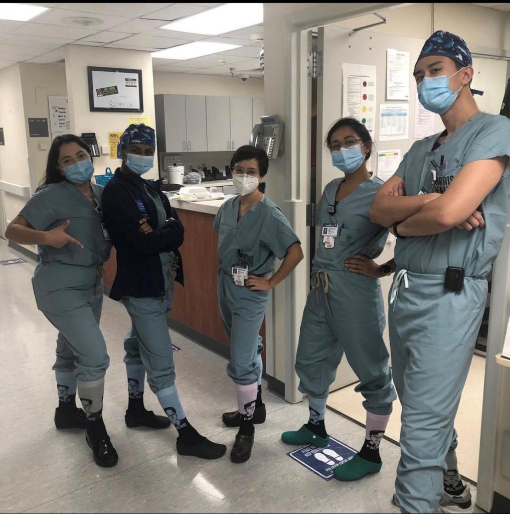 Drs. Maria Limas, Archana Ayyar, Elizabeth Cook, Ambica Sastry and Yingao Zhang