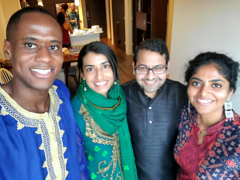Baylor residents celebrate Eid.