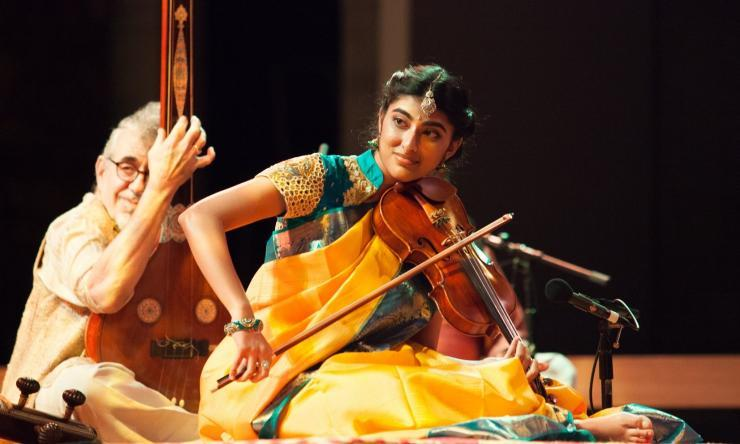 Aishu Venkataraman Pareek, one of our residents is a talented violinist.