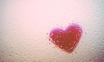Rainy heart