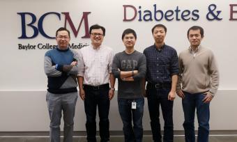 Drs. Yong Xu, Wenjun Zhou, Yanlin He, Zheng Sun and Pengfei Liu.