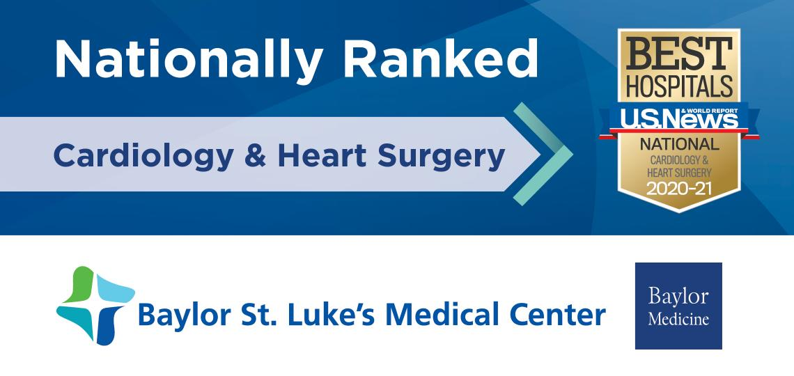 Nationally Ranked USNWR Cardiology and Heart Surgery