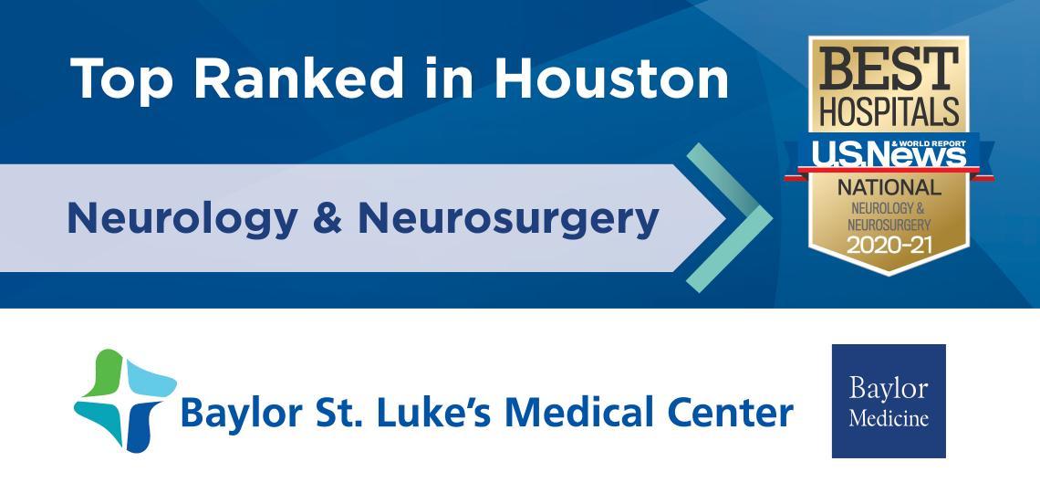 Nationally Ranked USNWR Neurology and Neurosurgery