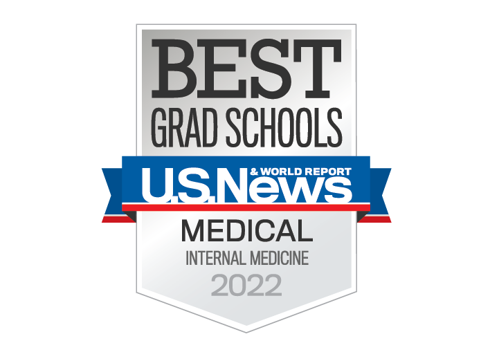 Best Graduate School, U.S. News and World Report, Medical - Internal Medicine 2022