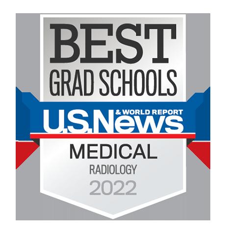 USNWR Best Grad School Radiology badge