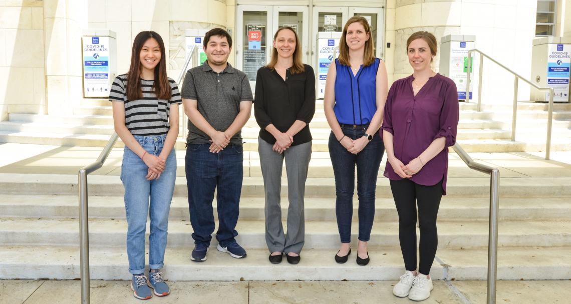 Rau Lab Group Photo 2021