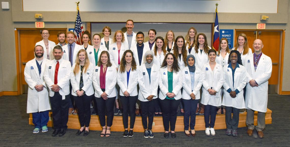Class of 2021 White Coat Clinical Transition Ceremony