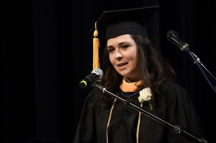 Angelina Romasanta at SHP Graduation