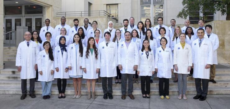 Pathology residents group photo in 2019