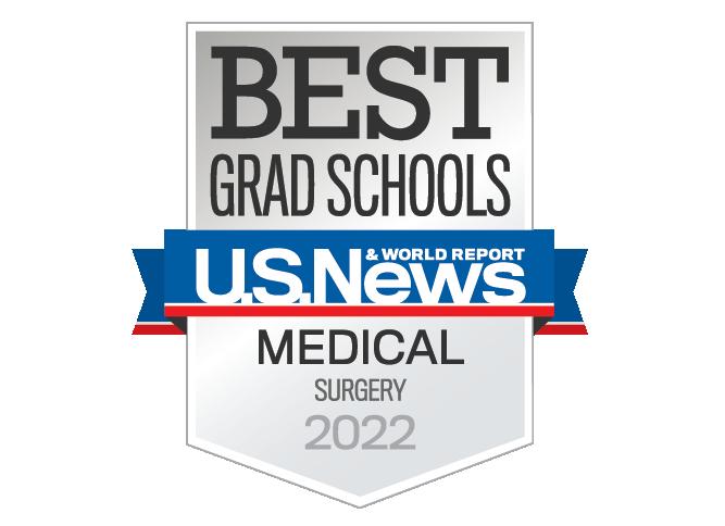 Best GraduateSchool, US News and World Report, Medical - Surgery 2022