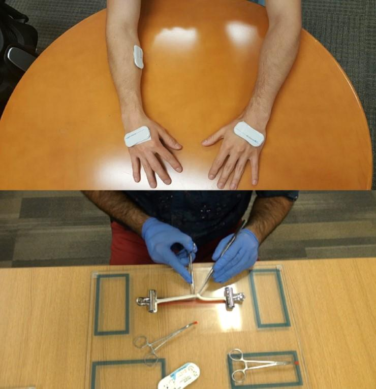 Evaluation of Surgical Skills Using Wearable Technology