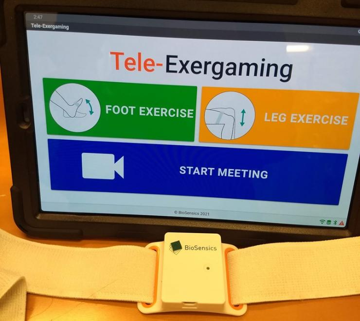 Tele-Exergame: Remotely-Supervised Exercise Platform for Improving Cognition and Motor Function using Telemedicine