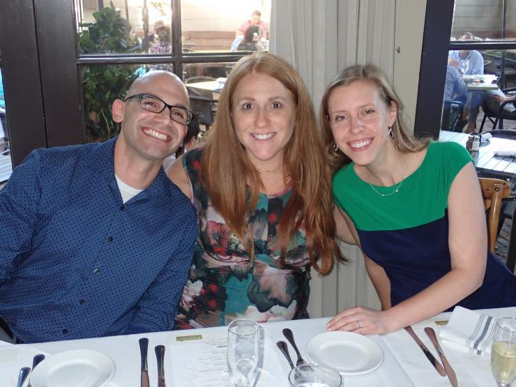 Inaugural PACT Fellowship year with Fellow Kim Sawyer and Directors Jared Rubenstein and Jill Ann Jarrell
