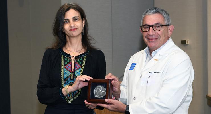El Sahly with Dr. Klotman
