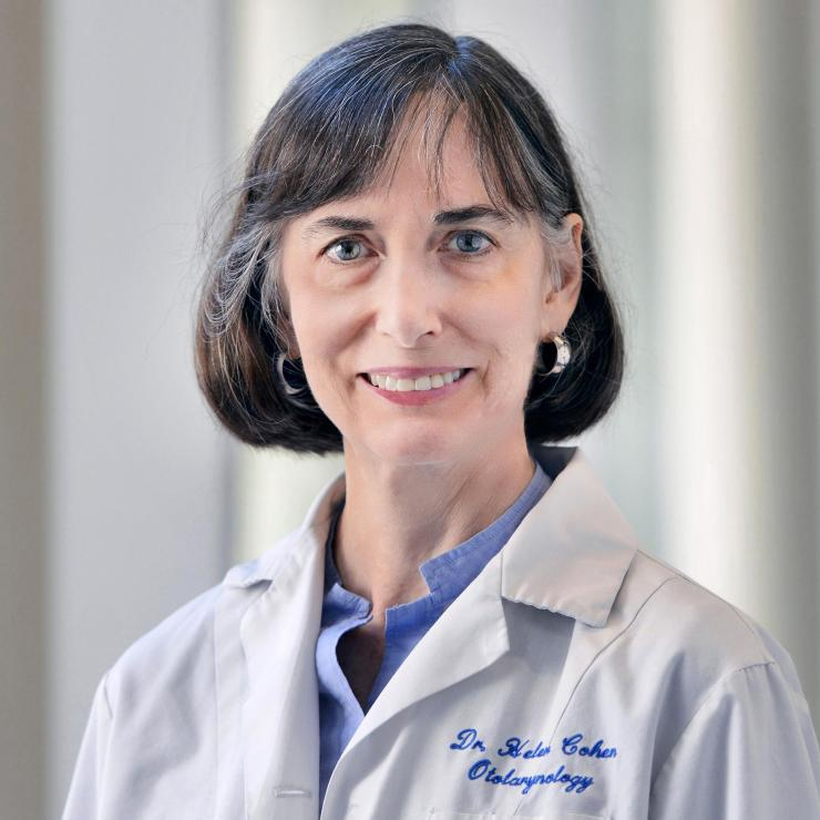 Dr. Helen Cohen, professor of otolaryngology and associate director of the Center for Balance Disorders.