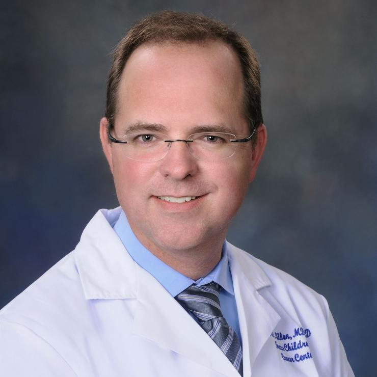 Dr. Carl Allen, associate professor of pediatrics at Baylor College of Medicine and Texas Children's.