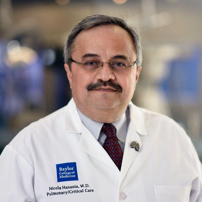 Dr. Nicola Hanania, associate professor of medicine in the section of pulmonary, critical care and sleep medicine and director of the airways clinical research center at Baylor