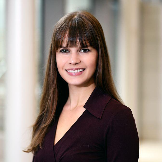 Dr. Stephanie Morain, assistant professor in the Center for Medical Ethics and Health Policy