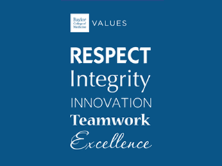 Living our Values at Baylor College of Medicine