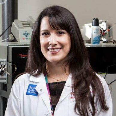 Dr. Ruth Ann Luna, assistant professor of pathology & immunology at Baylor and director of medical metagenomics at the Texas Children's Microbiome Center at Texas Children's Hospital.