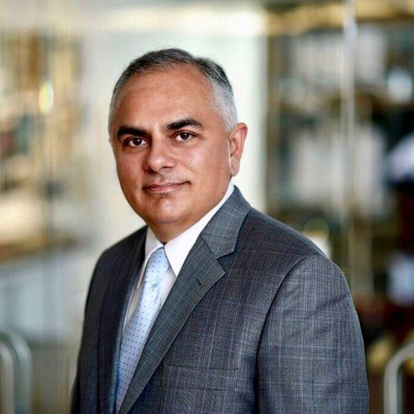Dr. Asim Shah, professor and vice chair for community psychiatry in the Menninger Department of Psychiatry and Behavioral Sciences at Baylor College of Medicine.