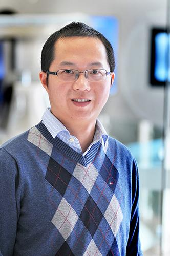 Dr. Yong Xu, associate professor of pediatrics at the USDA/ARS Children's Nutrition Research Center at Baylor College of Medicine and Texas Children's Hospital and of molecular and cellular biology at Baylor