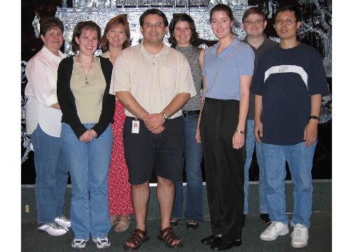 Left to Right: Merry Maynard, Sonia Morgan-Linnell, Lynn Zechiedrich, Chris Lopez, Lauren Becnel, Jennifer Mann, Graham Randall, Yinsuo Zhao
