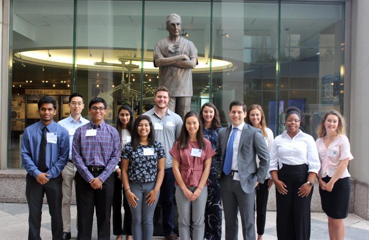 2018 DeBakey Summer Surgery Students