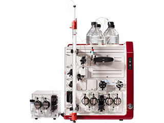 GE Healthcare's ÄKTA Pure and ÄKTA Start chromatography system