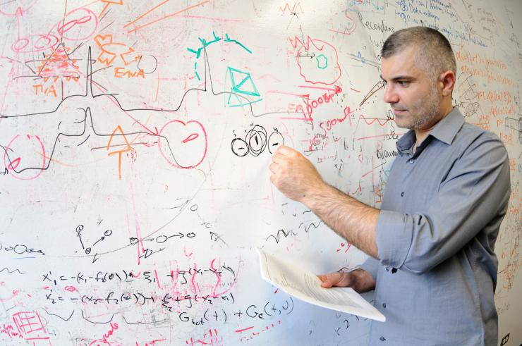 Dr. Andreas Tolias, Brown Foundation Chair and associate professor of neuroscience and founder and director of the Center for Neuroscience and Artificial Intelligence at Baylor College of Medicine.