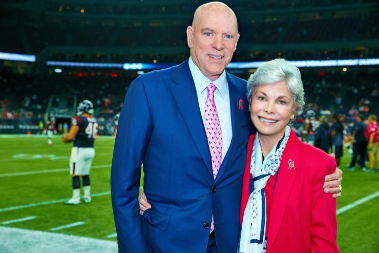 Bob and Janice McNair