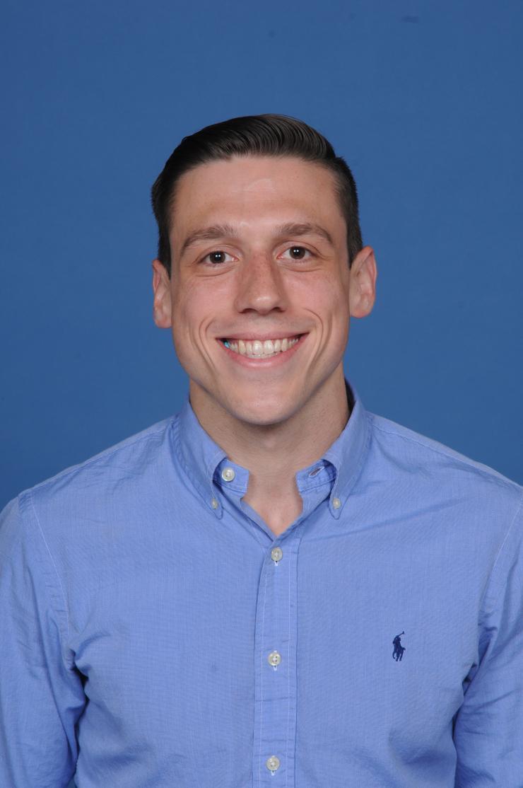 Graduate student David Boragine