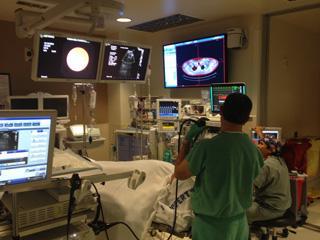 Bronchoscopy Lab, VA Medical Center