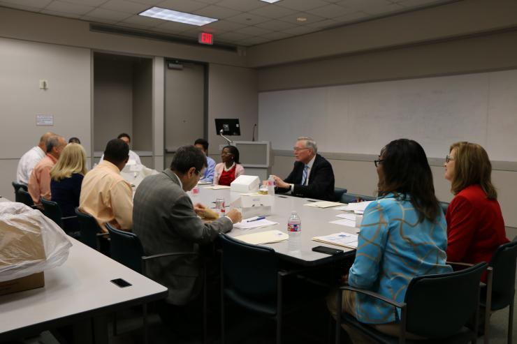 Members of the Advisory Council for the Baylor Center of Excellence in Health Equity, Training and Research
