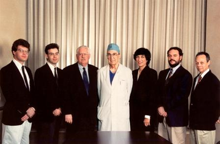 Winners of the 1994 Michael E. DeBakey, M.D., Excellence in Research Awards.