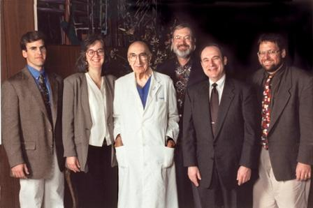 Winners of the 1997 Michael E. DeBakey, M.D., Excellence in Research Awards.