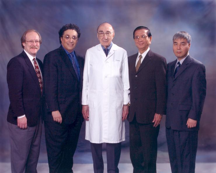 Winners of the 2003 Michael E. DeBakey, M.D., Excellence in Research Awards.