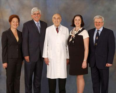 Winners of the 2004 Michael E. DeBakey, M.D., Excellence in Research Awards.