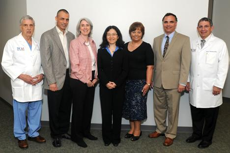 Recipients of the 2010 Michael E. DeBakey, M.D., Excellence in Research Awards.