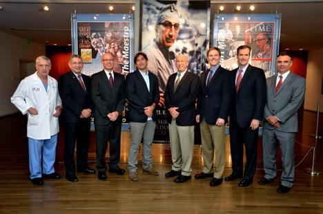 Winners of the 2013 Michael E. DeBakey, M.D., Excellence in Rsearch Awards.