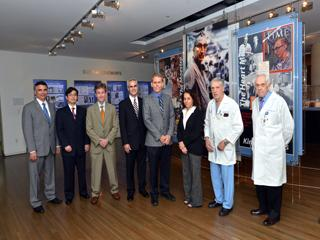 Recipients of the 2014 Michael E. DeBakey, M.D., Excellence in Research Awards.