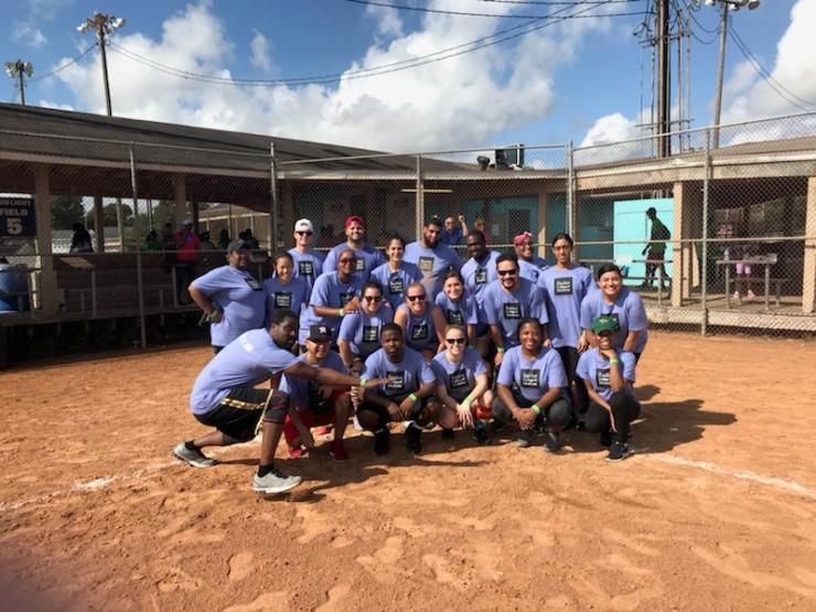 DoM softball team